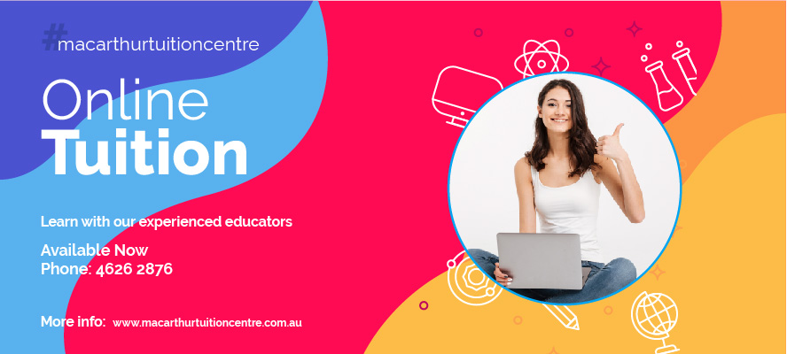 Macarthur Tuition Centre Online Learning